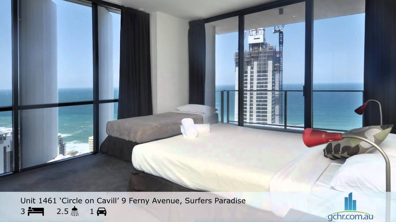 Apartment 1461 Circle on Cavill Surfers Paradise Accommodation  YouTube