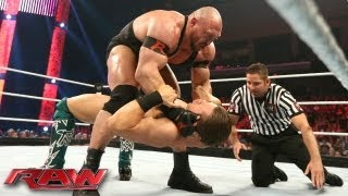 The Miz vs. Ryback: Raw, July 1, 2013