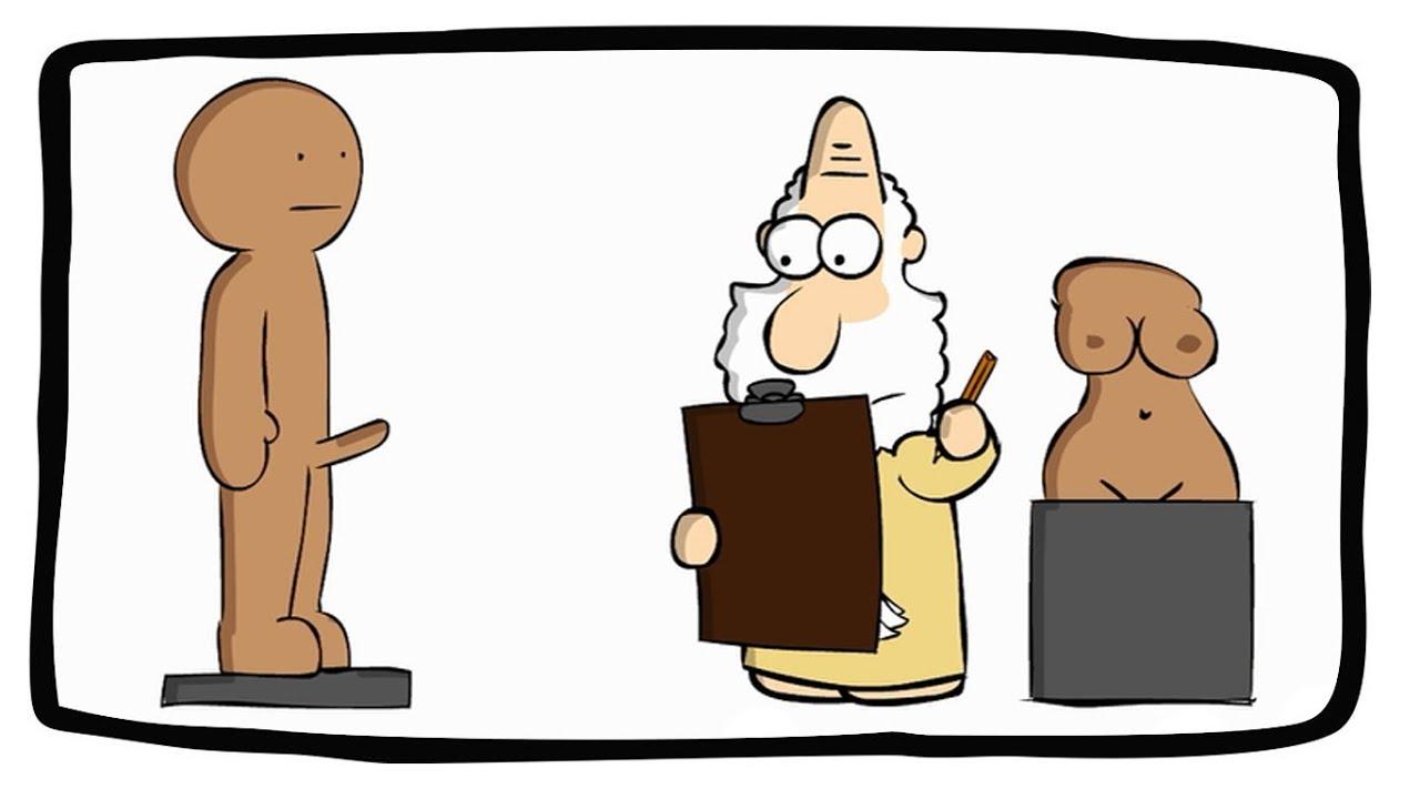 Como Deus criou o homem? // How did God create man? #1