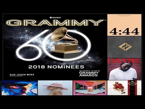 Grammy 2018 Nominees 60th Annual - The Full Nominations List