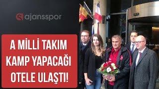 Milli Takım Andorra'da kalacağı otelde güzel karşılandı!