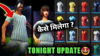 TONIGHT UPDATE🤔 | CORINTHIANS JERSEY AVAILABLE IN STORE | FREE FIRE NEW EVENT AND NEW UPDATE