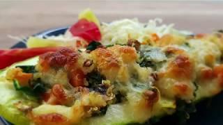 Vitalia healthy food - Полнети тиквички со киноа и зеленчук (diet, vege)