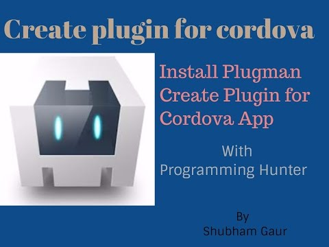 Create first Plugin for Cordova App