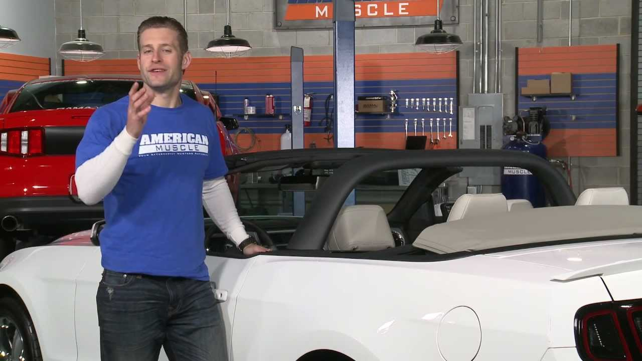 Mustang MMD Convertible Styling Bar - Charcoal (05-14 GT ...