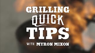 Myron Mixon's Quick Tip For Grilling Thick and Juicy Ribs