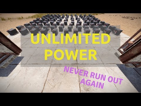 (RUST) Electricity 101 - Unlimited Power S02 Ep2 (Battery Backup) thumbnail