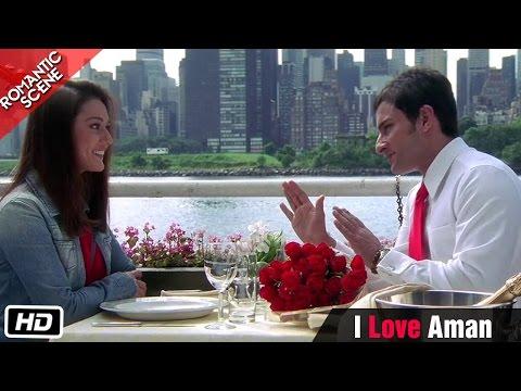 """""""I love Aman"""" - Romantic Scene - Kal Ho Naa Ho - Shahrukh Khan, Saif Ali Khan & Preity Zinta"""