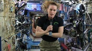 ISS Astronaut Talks Danger of Space Flight