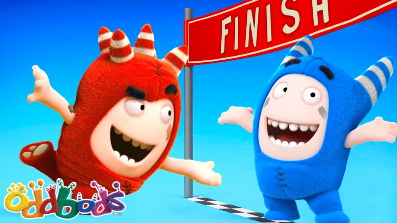 FUN RUN | Oddbods | Cartoons for Babies & Kids