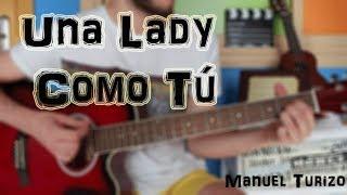 """Cómo tocar """"Una Lady Como Tú"""" - MTZ Manuel Turizo en Guitarra. TUTORIAL FÁCIL"""