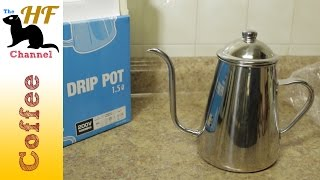Quick Look at the Takahiro Drip pot 1.5 Liter I always wanted to kn...