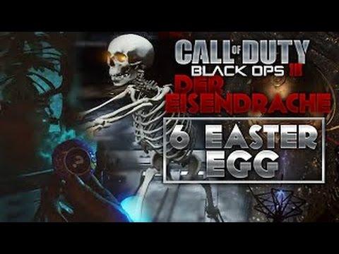 "BO3 Der Eisendrache  Zombies ""6 Easter Eggs"": Gobblegum Gratuite, Ventouse..."