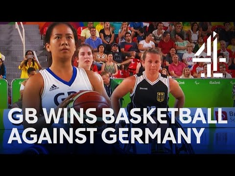 Basketball | GB vs. Germany in Women's Wheelchair Basketball | Rio Paralympics 2016