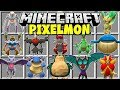 Minecraft PIXELMON MOD | POKEMON, LEGENDARIES, MEGA EVOLUTIONS!!