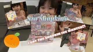 Unboxing shopkins mini packs/Season 10