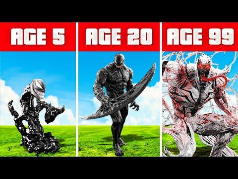 SURVIVING 99 years as VENOM in GTA 5! (GTA 5 Mods)