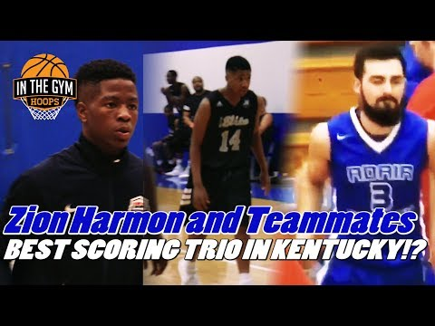Zion Harmon and Teammates | Best Scoring Trio in Kentucky!?