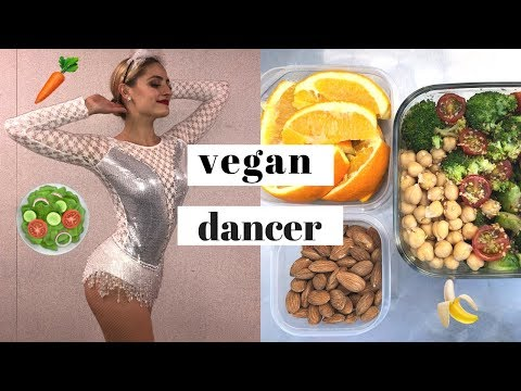 What I eat in a Day as A Vegan Dancer