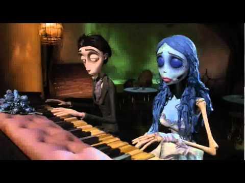 EL CADAVER DE LA NOVIA piano