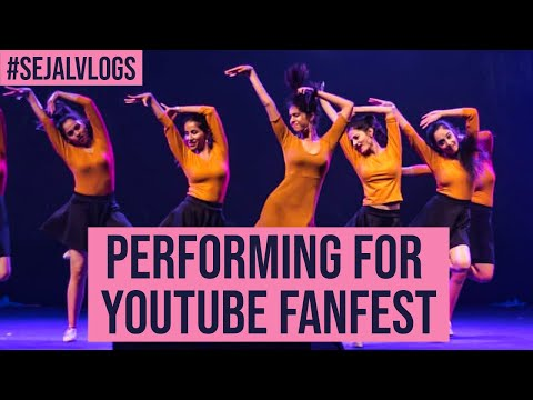 Performing on YOUTUBE FANFEST| Sejal Kumar