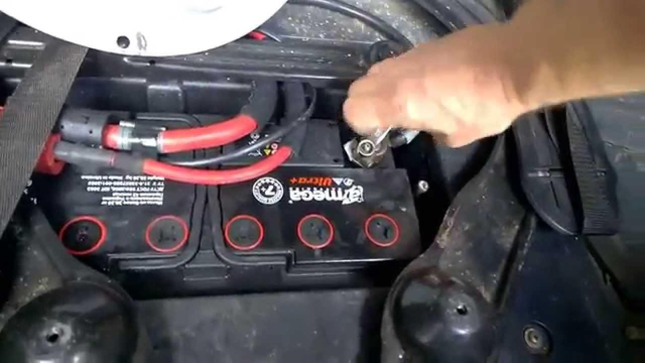 что надо знать при замене аккумулятора нв bmw e60