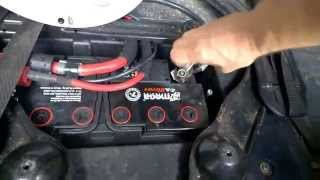 Замена аккумулятора BMW X-5 E53