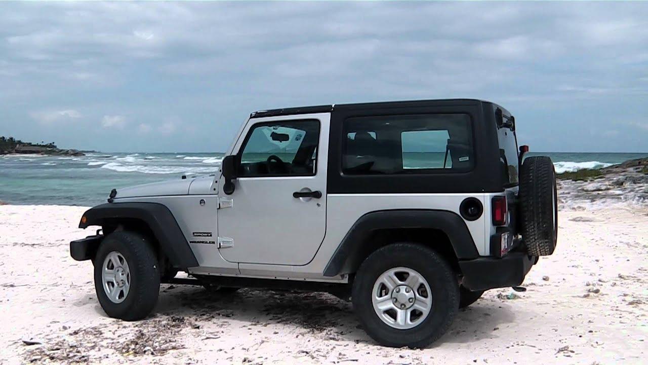 wrangler jeep at tulum mexico. - youtube