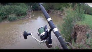 Рыбалка на СОМА на малой реке тест новой экшн камеры sjcam sj6 legend