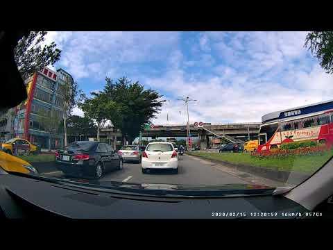 【快譯通Abee】V57GS Front View Dash Cam Day Driving Video 1