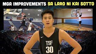 Ang mga Improvements sa Laro ni KAI SOTTO | Ang Modern Big Man ng PILIPINAS BASKETBALL