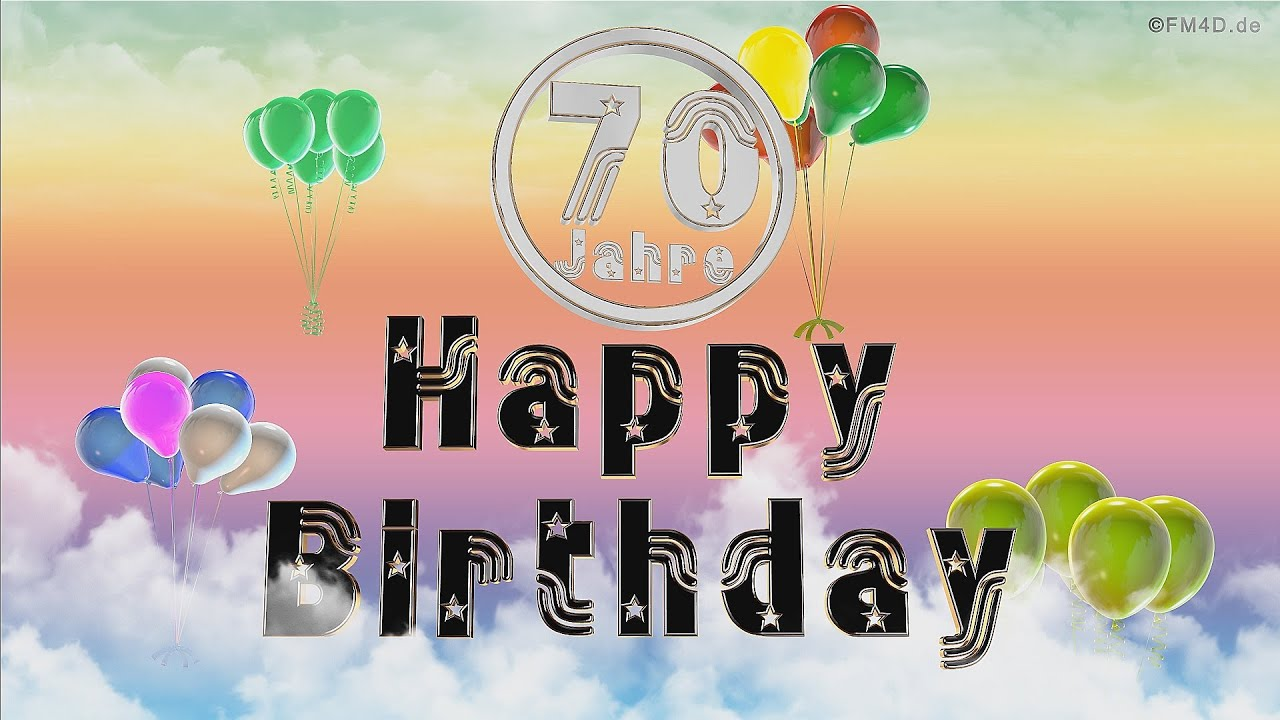 Happy Birthday 70