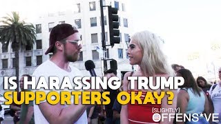 Is Harassing Trump Supporters Okay? | MAXINE WATERS OFFENS*VE
