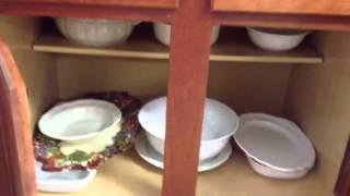 New House Tour   Kitchen Cabinet Organization