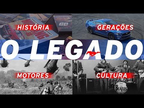Ford Mustang no Brasil: motores, gerações, história e cultura MUSTANG