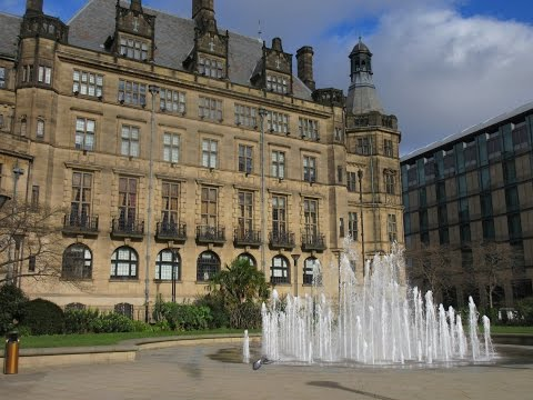 Sheffield, South Yorkshire, England, UK TRAVEL VIDEO