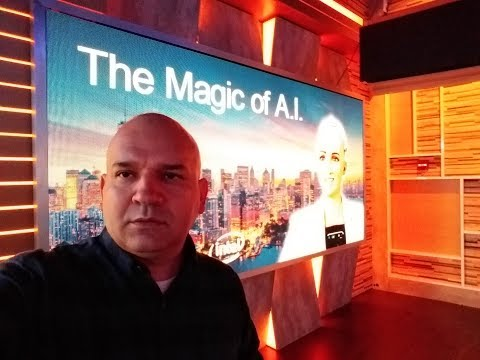 SOPHIA from Dell EMC The Magic of Artificial Intelligence at Times Square Studios New York