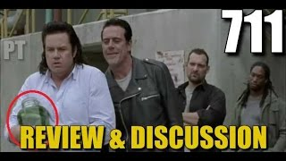 The Walking Dead Season 7 Episode 11 Review & Discussion Hostiles And Calamities TWD 711
