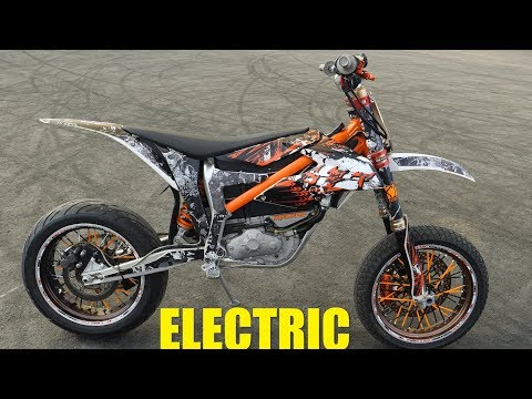KTM ELECTRIC SUPERMOTO Test ride