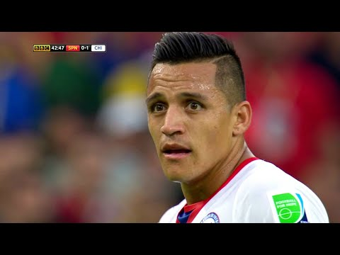 Alexis Sanchez vs Spain (World Cup 2014) HD 720p - English Commentary