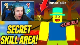 I FOUND THE NEW SECRET AREA IN NOOB SIMULATOR UPDATE AND FOUND ALL SANTA'S TOYS! (Roblox)