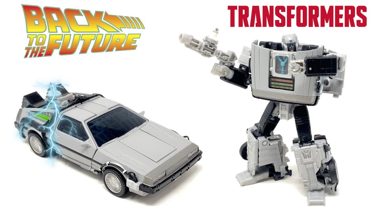 Transformers x Back To The Future GIGAWATT In-Hand Review by PrimeVsPrime