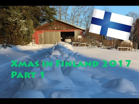 A SNOW LOVER'S DREAM! | Christmas in Finland - Travel Vlog 2017 Part 1