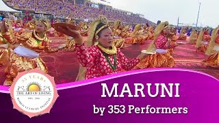 Maruni Dance from Nepal Sikkim and Darjeeling World Culture Festival 2016