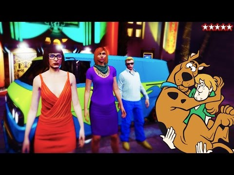 GTA 5 SCOOBY-DOO DLC Solving Mysteries & SPENDING SPREE - GTA 5 MYSTERIES (GTA 5 Funny Moments)