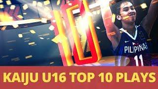 Kai Sotto Top 10 Plays FIBA Asia U16