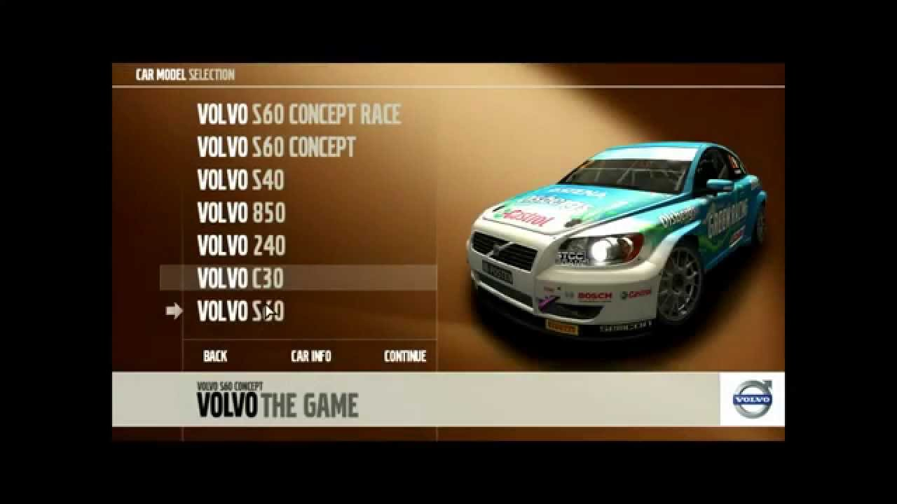 car list volvo the game youtube. Black Bedroom Furniture Sets. Home Design Ideas