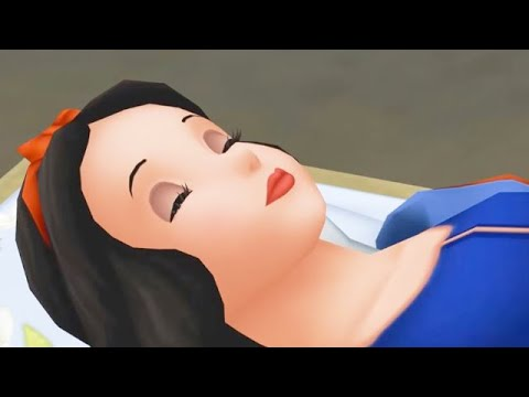 SNOW WHITE | Kingdom Hearts | Video Game ᴴᴰ