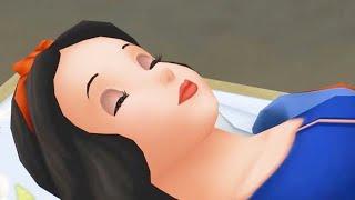SNOW WHITE   Kingdom Hearts Birth by Sleep   Game Movie ᴴᴰ