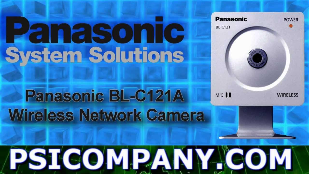 Panasonic BL-C121A Network Camera Driver Download